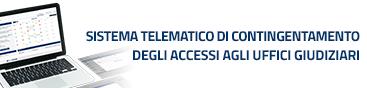 STC – Sistema Telematico di Contingentamento degli accessi agli uffici giudiziari